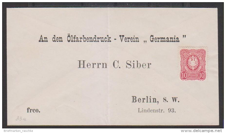 D.R,Nr.33 Auf Brief,nicht Gelaufen,nicht Gestempelt (4080)  Preis Wurde Reduziert !! - Allemagne