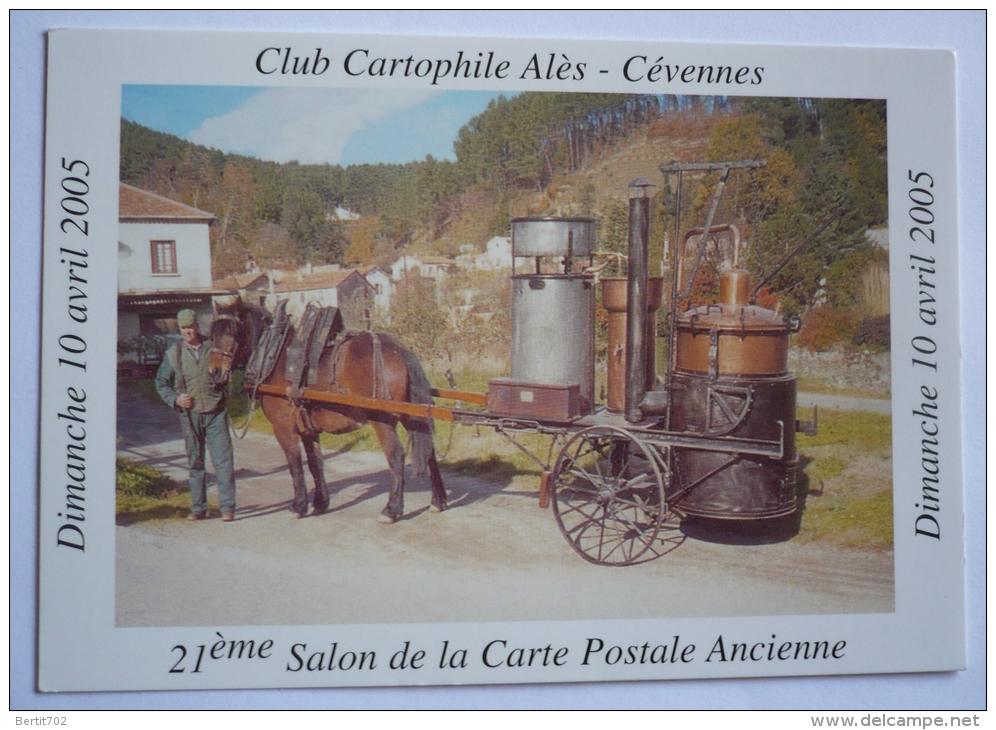 Club Cartophile ALES -CEVENNES 2005 - 21ème Salon - ALAMBIC DES ANNEES 1800 - Bourses & Salons De Collections