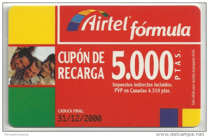= SPAIN - AIRTEL  - 3  - MY COLLECTION = - Airtel