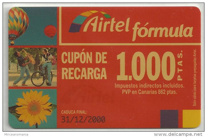 = SPAIN - AIRTEL  - 4  - MY COLLECTION = - Airtel
