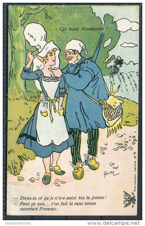 Illustrateur Humoristique Galry -ces Bons Normands - Other Illustrators