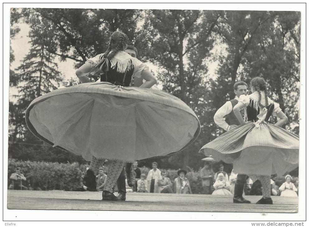 Tschéquie - Straznice - Festival De Danse, Cpsm, 10-15 - Voyagée 2 Scans - - Danses