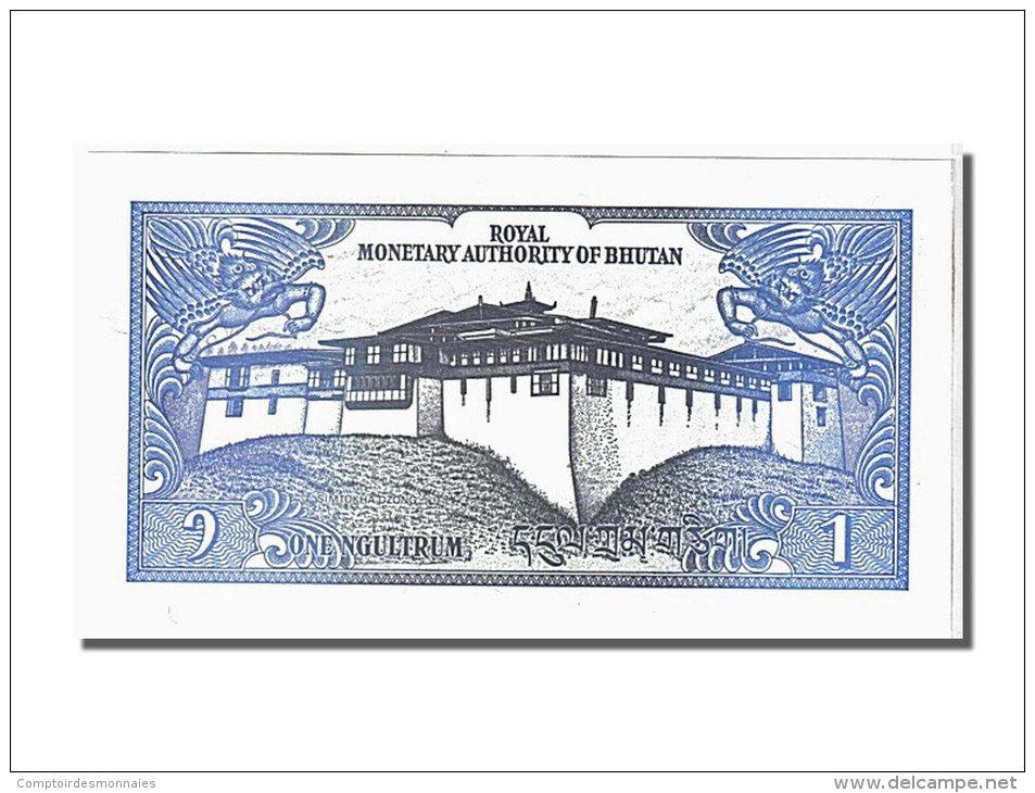 [#106780] Bhoutan, 1 Ngultrum Type 1985-92 - Bhoutan