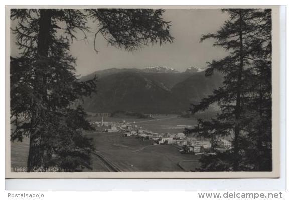 (CH320) ST. MORITZ . CRESTA CELERINA - GR Grisons