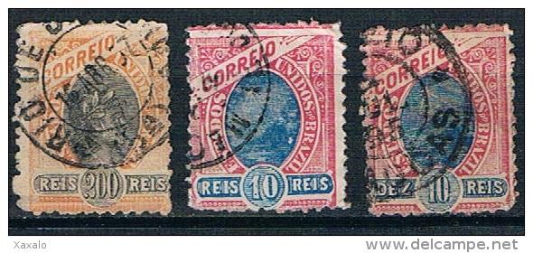 3111 - Brasil 1894 -1897 - Used - Brasil
