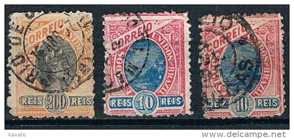 3111 - Brasil 1894 -1897 - Used - Usados