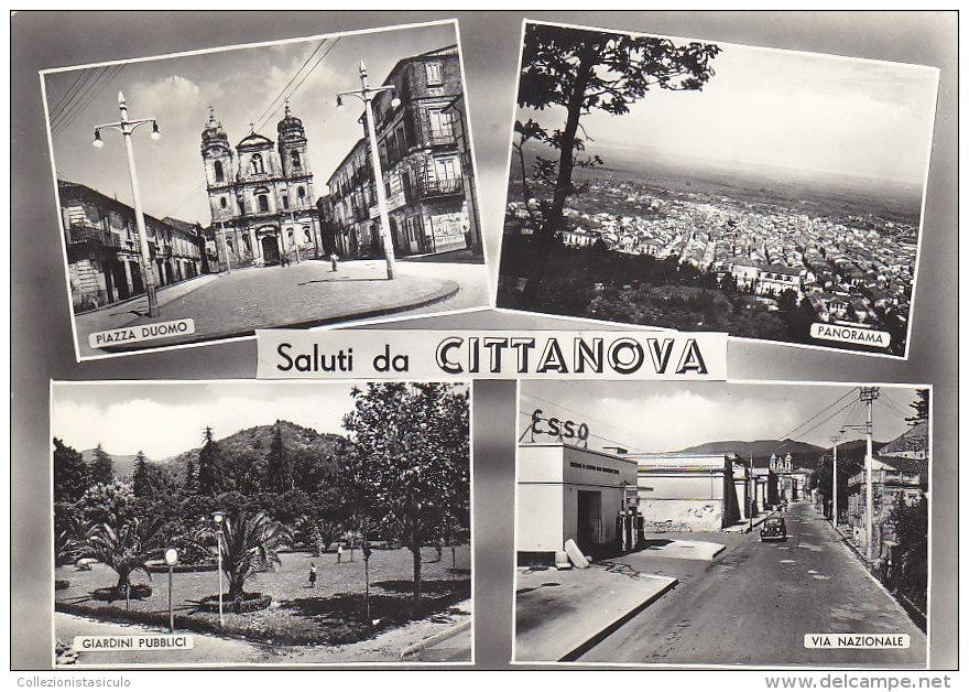 C1005- Saluti Da Cittanova - Reggio Calabria - F.g. Viaggiata - Reggio Calabria