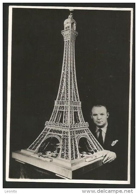 ALUMETTES 54'000 Paris Tour Eiffel Zündhölzer Matches Fiammiferi Milo Béral - Other