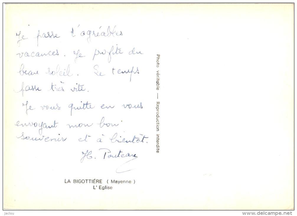 LA BIGOTTIERE ,ET SON EGLISE  REF 35535 - France