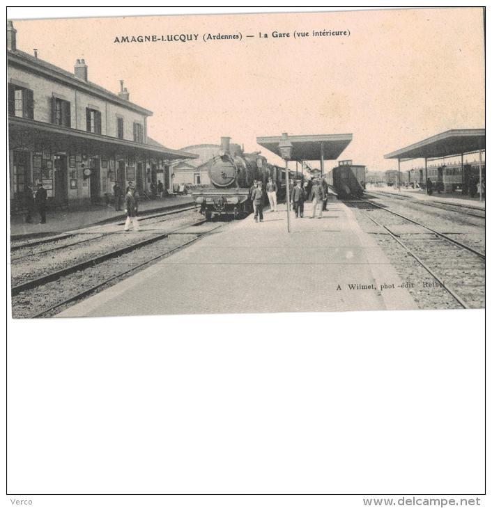 Carte Postale Ancienne De : AMAGNE LUCQUY - Other Municipalities