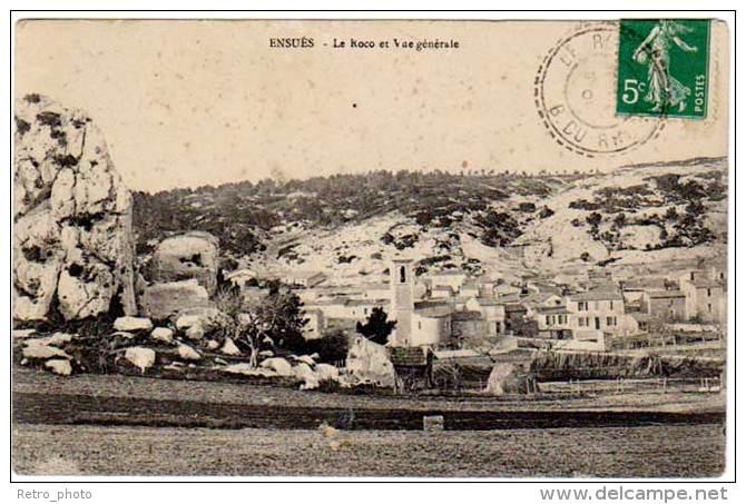 Ensuès - Le Roco Et Vue Générale (asi-12798) - France