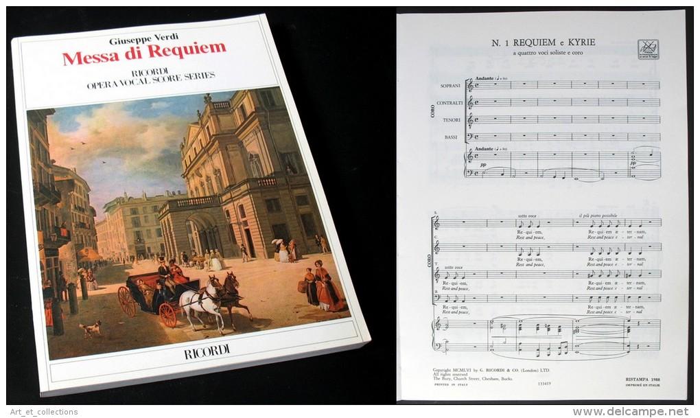 Partition De La « MESSE  De  REQUIEM » De Giuseppe VERDI - Musique & Instruments