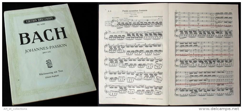 """La """"PASSION Selon Saint JEAN (BWV245)"""" De J.S. BACH - Musique & Instruments"""