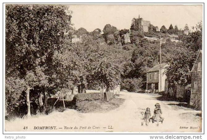 Domfront - Route Du Pont De Caen - Domfront