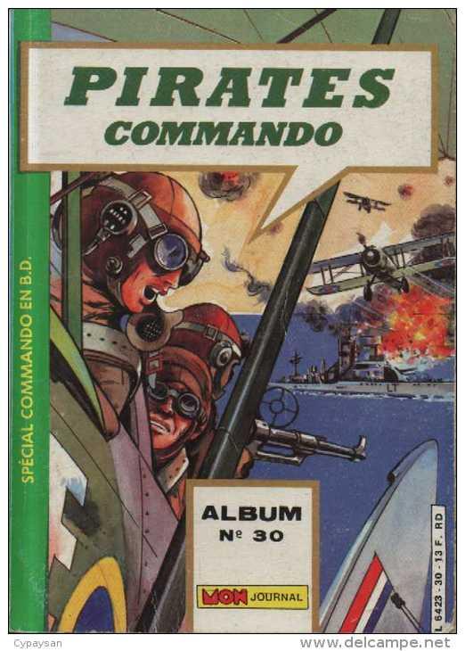 PIRATES ALBUM N° 30 ( 115 116 117 ) BE MON JOURNAL 07-1986 - Mon Journal