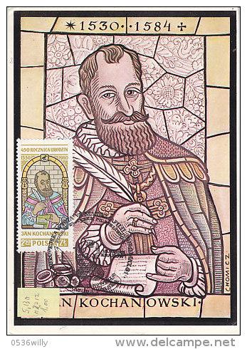 P-Krakau 1981. Jan Kochanowski (5.130) - Maximumkarten