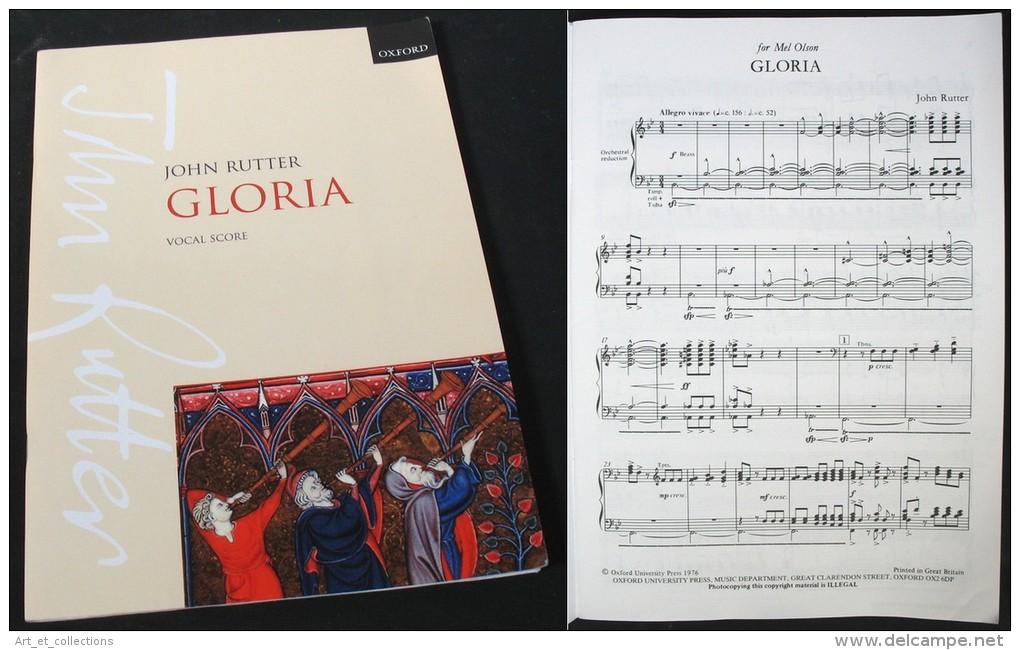 """Partition Du """"GLORIA""""  De John RUTTER - Musique & Instruments"""