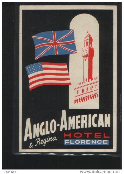 Hotel ANGLO - AMERICAN & REGINA Florence Italia - Hotel Labels