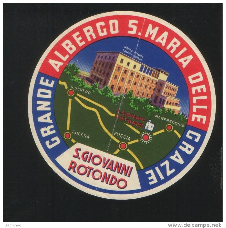 Grande Albergo S. MARIA DELLE GRAZIE San Giovanni Rotondo Italia - Hotel Labels
