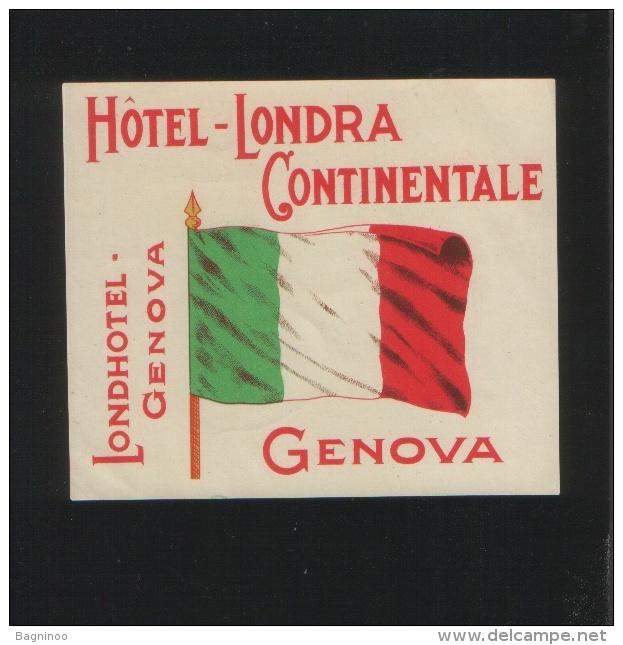 Hotel LONDRA CONTINENTALE Genova Italia - Hotel Labels