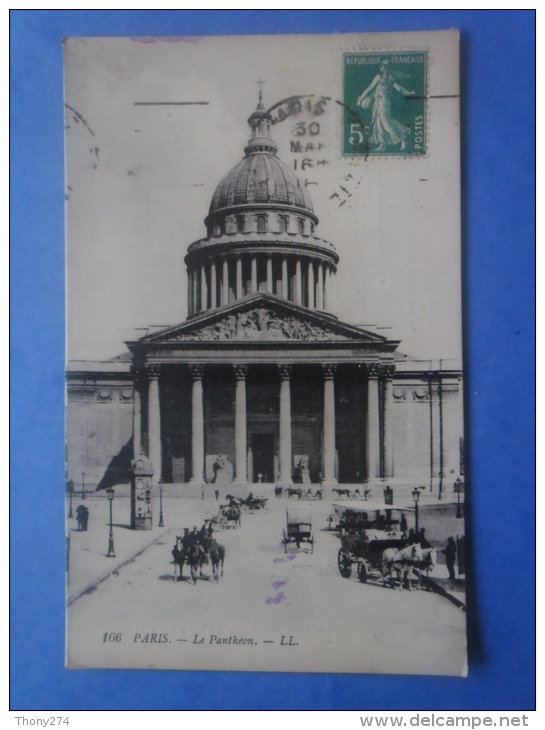 75-PARIS Le Panthéon - Monuments
