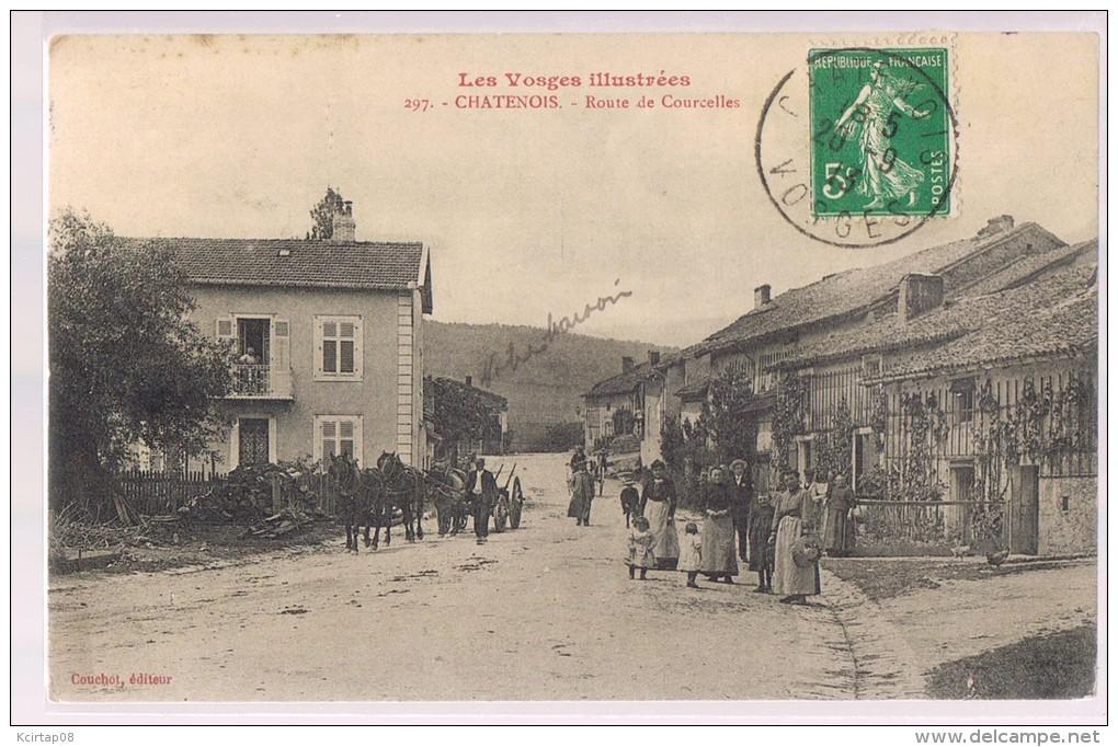 CHATENOIS . Route De Courcelles . - Chatenois