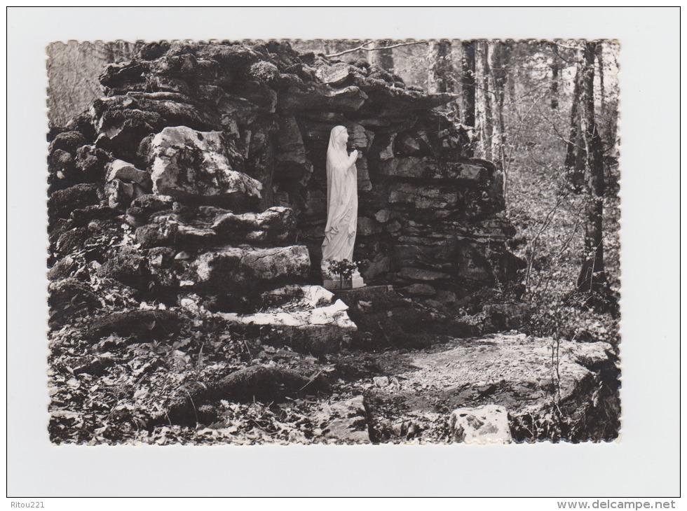 25 - Pugey - Besançon - Clinique D´Arguel - La Grotte De Lourdes Dans Le Parc  - Vierge - - Besancon