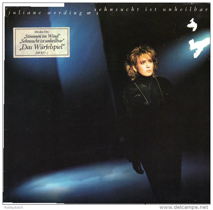 * LP *  JULIANE WERDING - SEHNSUCHT IST UNHEILBAR (Germany 1986) - Sonstige - Deutsche Musik