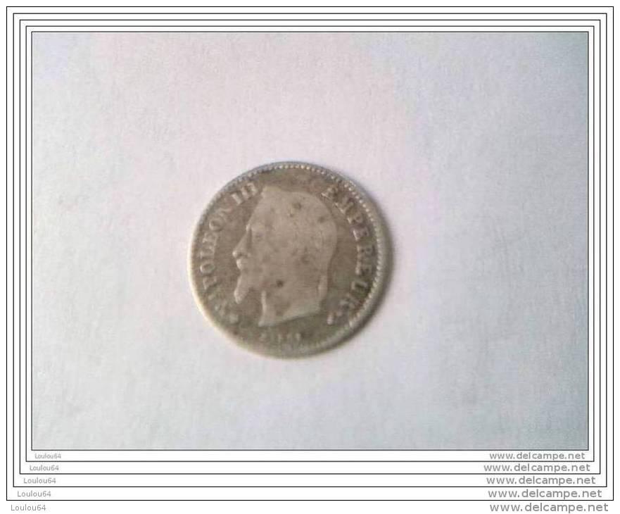 20 CENTIMES - 1868 BB - NAPOLEON III - - E. 20 Centimes