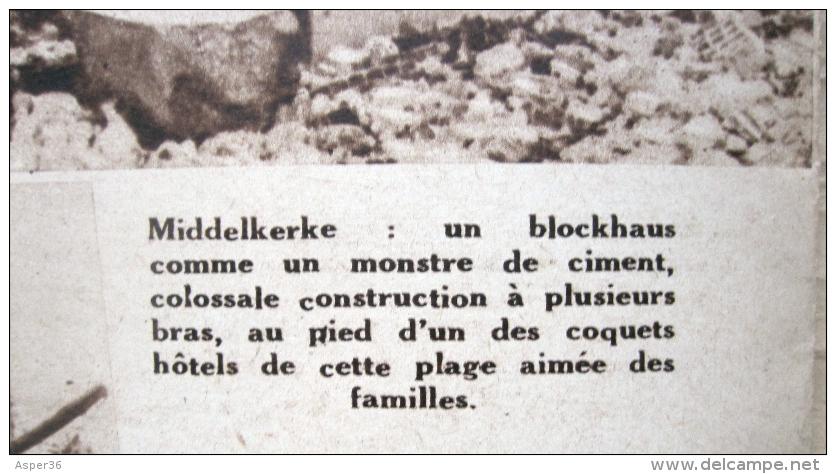 magazine avec article de la panne blankenberghe dernier soupire forteresse europe 1944. Black Bedroom Furniture Sets. Home Design Ideas