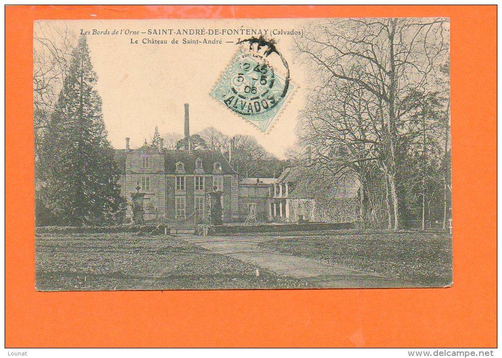 14 Saint André De Fontenay : Le Château De Saint André - France