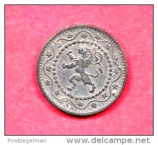 BELGIUM , 1915, Circulated Coin, Zinc, Km81, C1630 - 1909-1934: Albert I