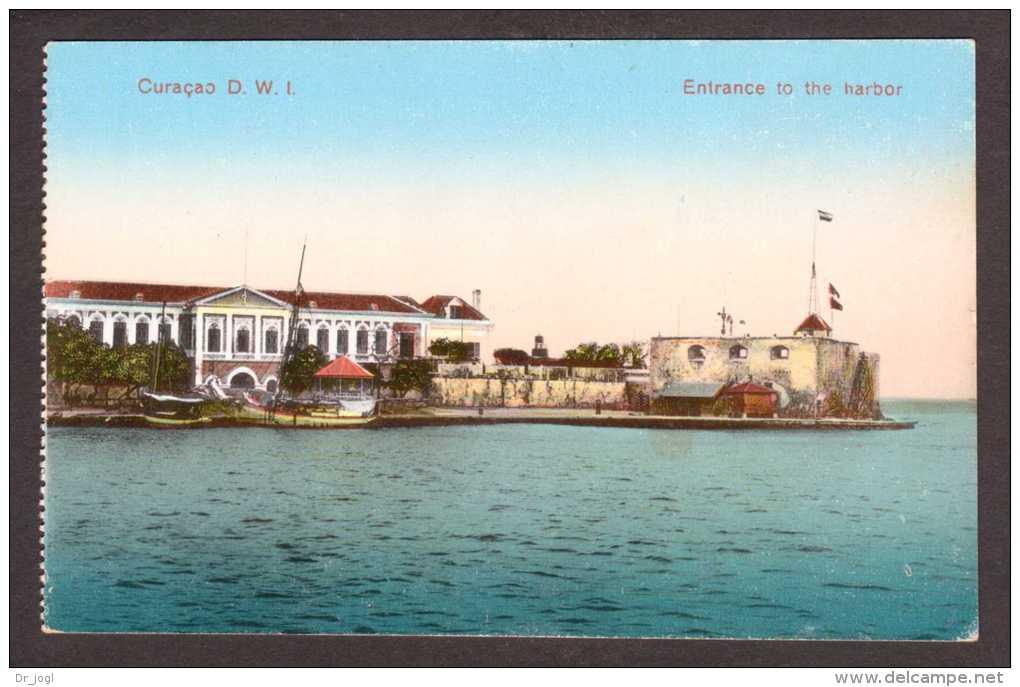 NLA7) Curaçao - Entrance To The Harbour - Curaçao