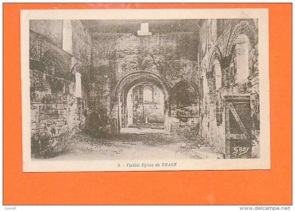14 THAON : Vieille église - France