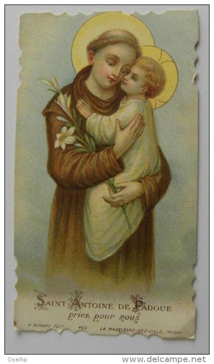 Image Pieuse - Saint  ANTOINE De PADOUE  - Bonamy 469 Holy Card - - Devotion Images