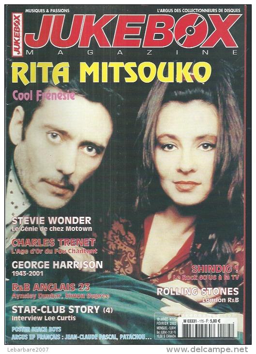 JUKEBOX MAGAZINE  N° 175  -  RITA MITSOUKO    - 2002 - Poster Page Centrale: BEACH BOYS - Musik