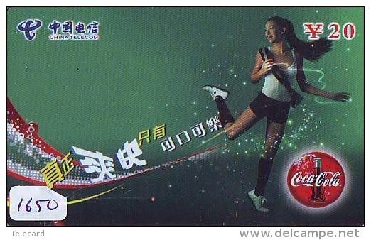 Télécarte  * COCA COLA *  PHONECARD (1650) COKE * TELEFONKARTE * - Werbung