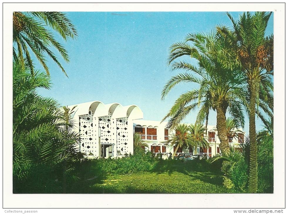 Cp, Tunisie, Skanès, Skanès Palace, Entrée - Tunisie