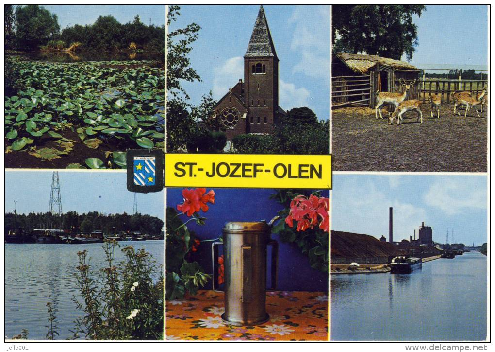 Sint-Jozef-Olen  Groeten Uit... Veelzicht  JvdB-kaart - Olen