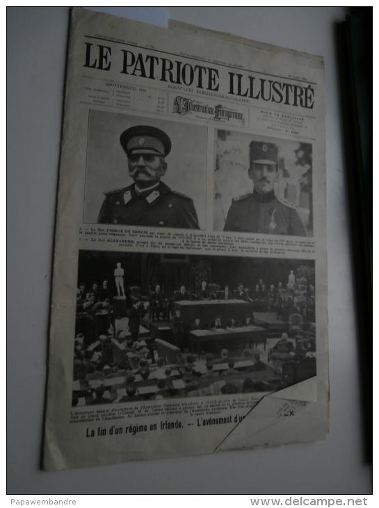 Le Patriote Illustré 28/08/1921: Le Roeulx, Blois, Loncin, Marchienne, RC Gent, - Books, Magazines, Comics