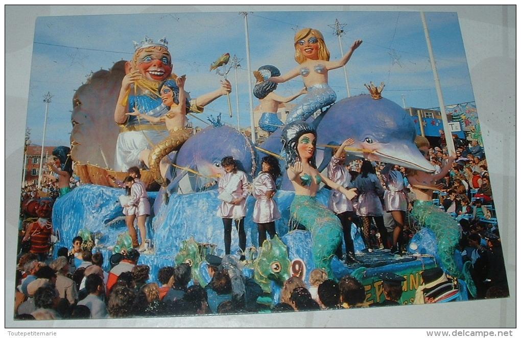 Nice - Carnaval 1987 Neptune Au Bal Des Sirenes - Carnaval