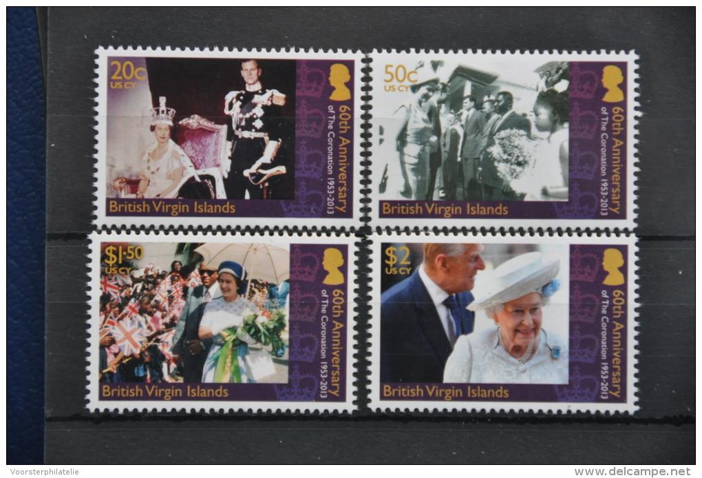 M 215 ++ BRITISH VIRGIN ISLANDS 2013 QUEEN ELISABETH  MNH ** - Postzegels