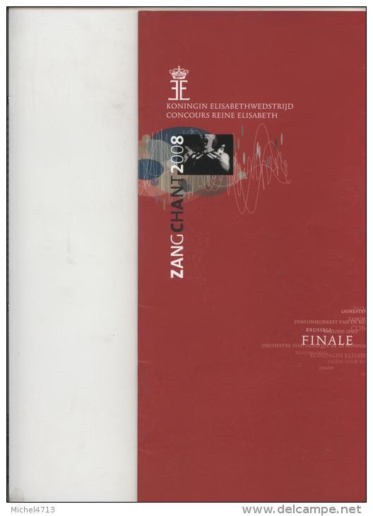 CONCOURS REINE ELISABETH CHANT  2008 - Musique