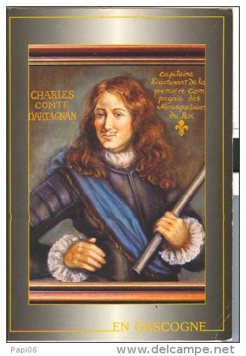 En Gascogne, Charles Comte D'Artagnan, Capitaine Lieutenent De La 1ere Compagnie Des Mousquetaires Du Roi - Histoire