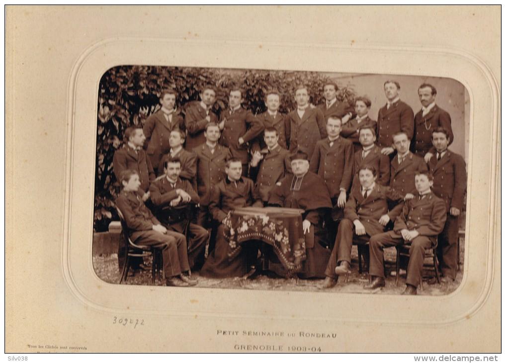 Grenoble Petit Seminaire Du Rondeau 1903 1904  Photo Originale Dim Environ 23x16.5 - Photographs