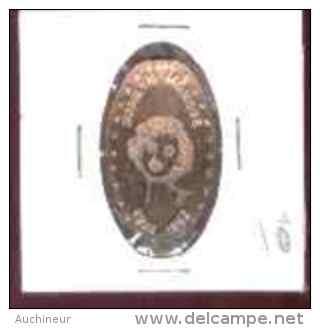 MARILYN MONROE - Monnaie One Cent étirée - Monete Allungate (penny Souvenirs)