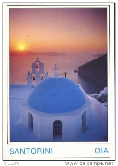 Santorini - Oia - Grece - Formato Grande Viaggiata - D - Grecia