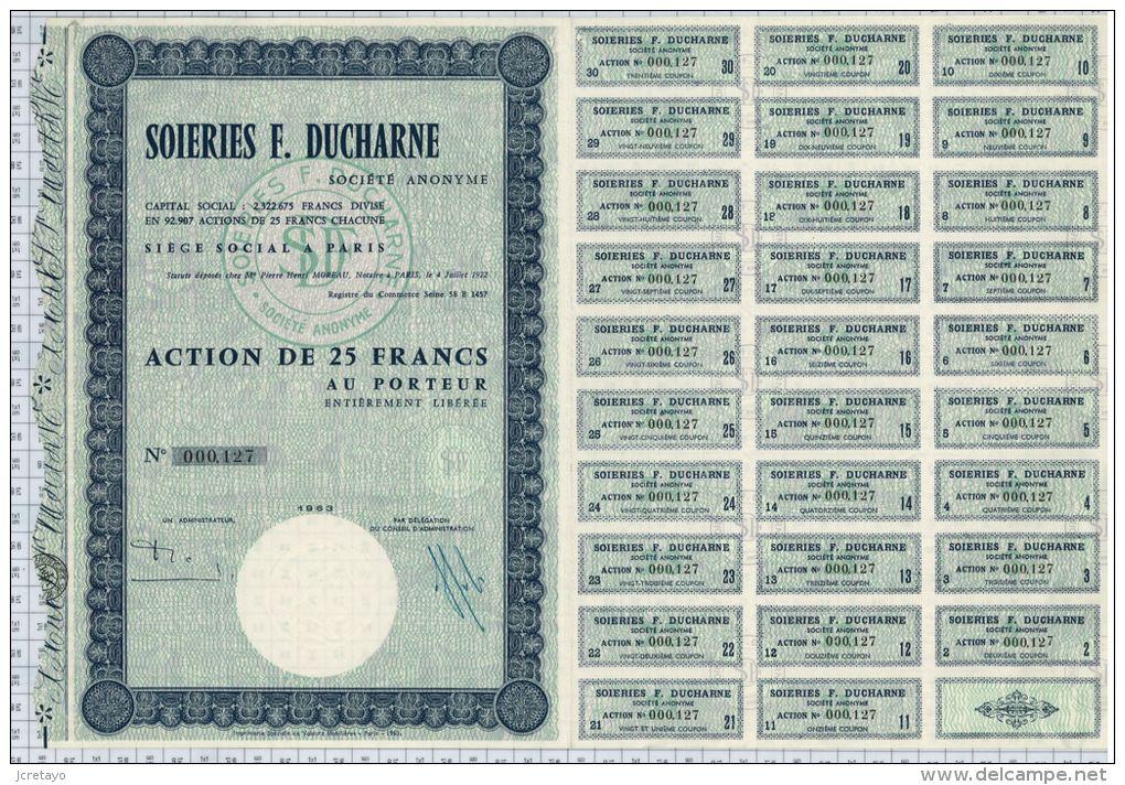 Soieries F. Ducharne - Textile