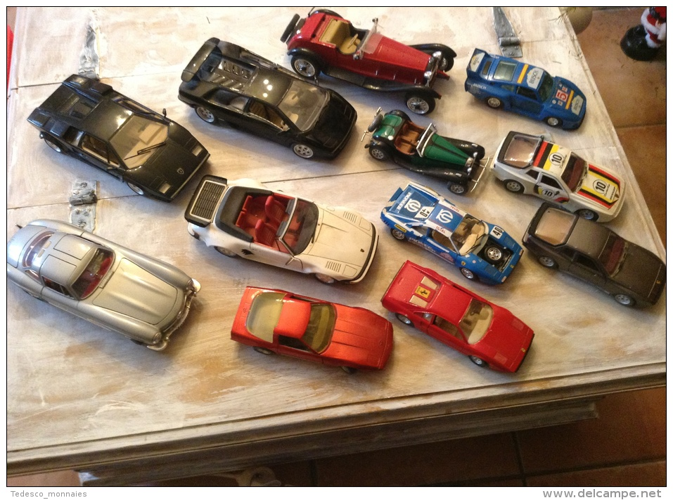 gros lot de voiture 1 18 1 24 majorette burago polistill tonka corvette mercedes porche. Black Bedroom Furniture Sets. Home Design Ideas