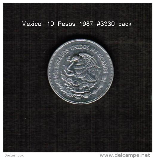 MEXICO    10 PESOS  1987  (KM # 512) - Messico